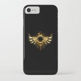 Mechanical Wings ( Steampunk Wings ) iPhone Case