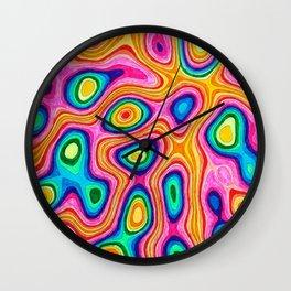 Magma Wall Clock