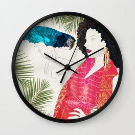 Rainforest Vogue Wall Clock