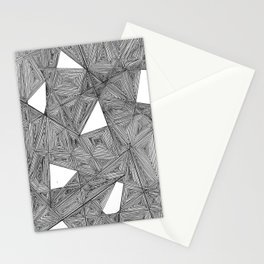 Filled Shapes Stationery Cards