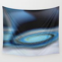 grace Wall Tapestries featuring Grace by Louvretta