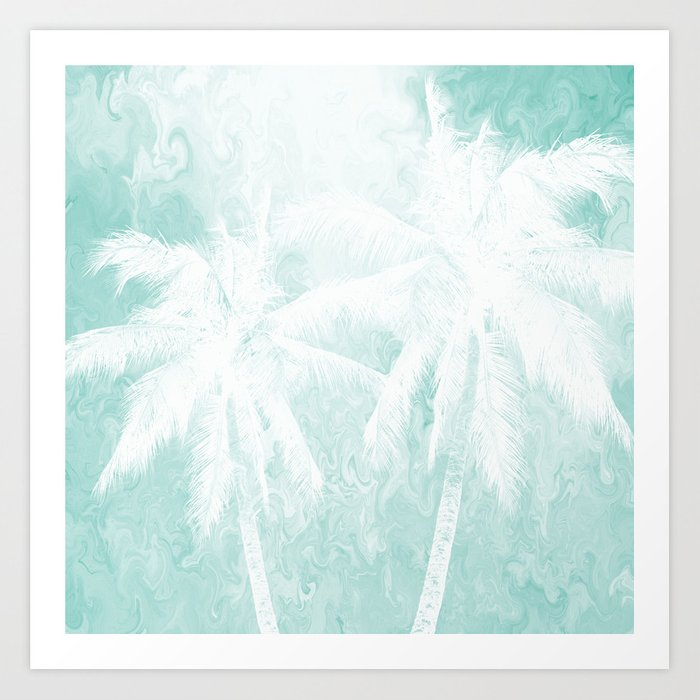 Design 54 Palm Trees Kunstdrucke
