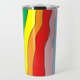 Brazil Girl Skirt Rainbow Travel Mug