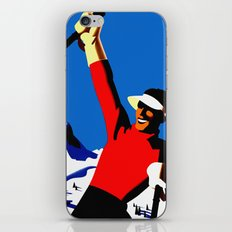 Vintage Austria Snow Skiing Travel iPhone & iPod Skin