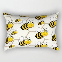 Cute Bees! Rectangular Pillow