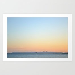 Enter Catalina Art Print