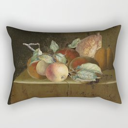 Autumnal bounty Rectangular Pillow