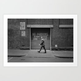 One Way - Street Photography in Melbourne Art Print