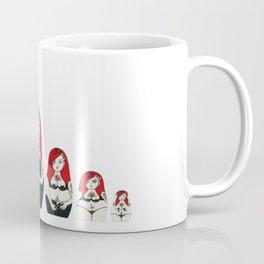 Alternative Stripper Russian Doll Coffee Mug
