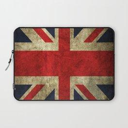 GRUNGY BRITISH UNION JACK  DESIGN ART Laptop Sleeve