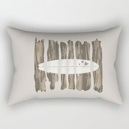 Surfboard Rectangular Pillow