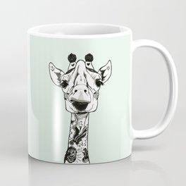 Giraffe Tattooed Coffee Mug
