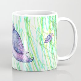 Funny bird Coffee Mug