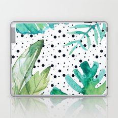 Botanic polka dots Laptop & iPad Skin