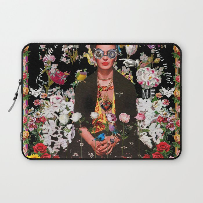 Frida OTT Kahlo You Are Too Much Laptop Sleeve