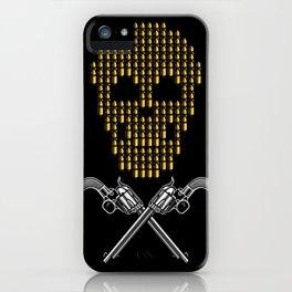 Skull Bullets iPhone Case