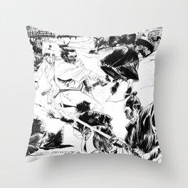 Shogun Assasin Throw Pillow