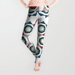 Tile mandala Leggings