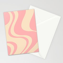 Dazed and Confused - Peach Stationery Cards