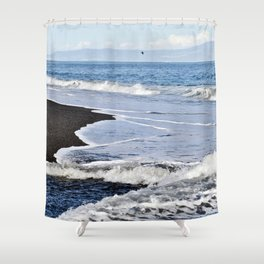 GAME of WAVES - Sicily Shower Curtain