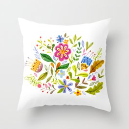 Hope Springs Throw Pillow