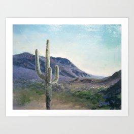 Old Tucson Art Print
