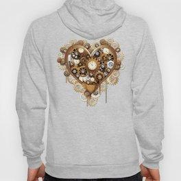Steampunk Heart Love Hoody