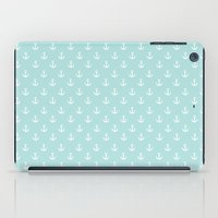 anchors iPad Cases featuring Anchors by Nic ter Horst