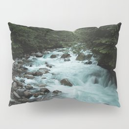 Pacific Northwest River II - Nature Photography Pillow Sham