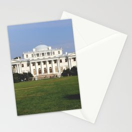 Facade of a Elaginostrovsky Palace Museum Stationery Cards