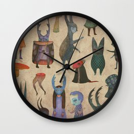 The Cursed Forest characters Wall Clock