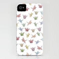 Origami Cranes Slim Case iPhone (4, 4s)