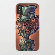 Mad Hatter iPhone X Slim Case