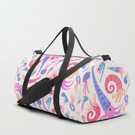 Ancient cephalopods Duffle Bag