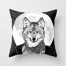 The Cryptids - Werewolf Throw Pillow