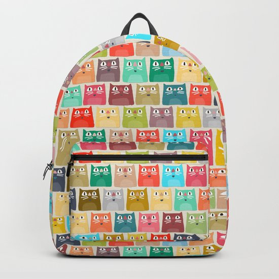 summer cats Backpack