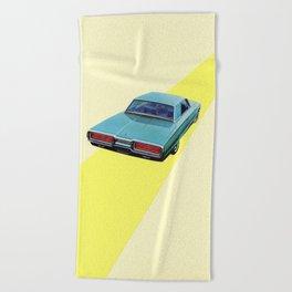 Open Road Beach Towel