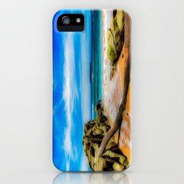 Singular Tropical Beach iPhone Case