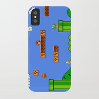 mario iPhone & iPod Cases featuring Mario by idaspark