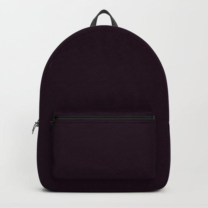 Simply Deep Eggplant Purple Backpack
