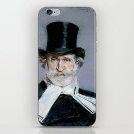Giuseppe Verdi (1813 – 1901) by Giovanni Boldini (1842 - 1931)(2) iPhone Skin