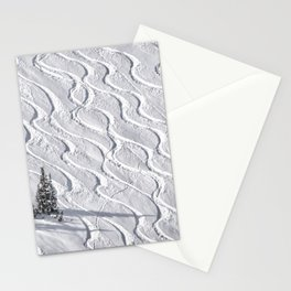 Powder tracks Stationery Cards