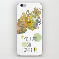 SWEET YOU  iPhone & iPod Skin