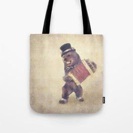 Dancing Bear Tote Bag