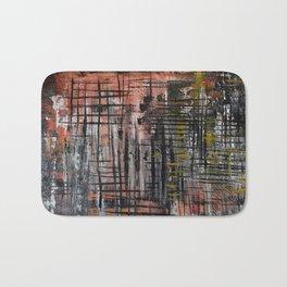 Abstract Lines Bath Mat