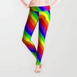 Pride Rainbow Pattern Leggings