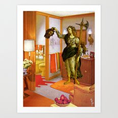 Mythology in the Master Suite Art Print