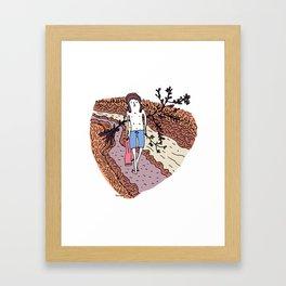 Putty Hill. Framed Art Print