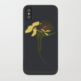 Art Nouveau Poppy Duet by Seasons K Designs iPhone Case