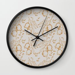 POMEGRANATES II Wall Clock